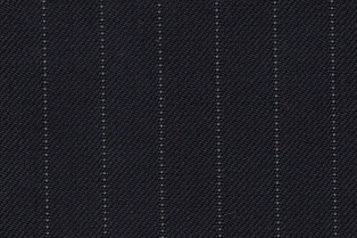 Navy with white narrow pin stripe