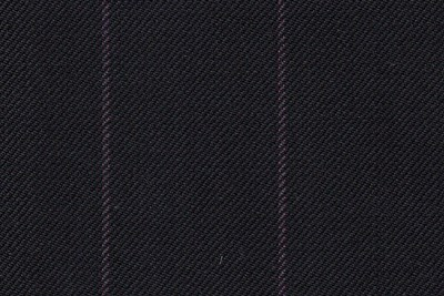 Black with Purple chalk stripe