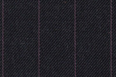charcoal grey with pink pin stripe